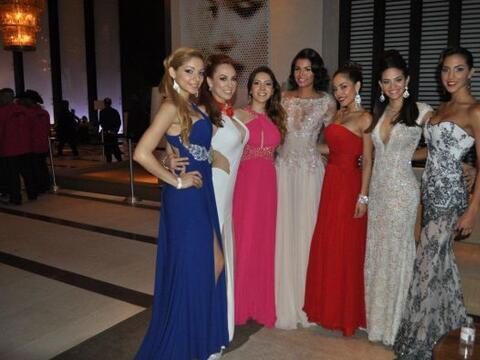 Marisela Demontecristo se encontró con las seis primeras finalist...