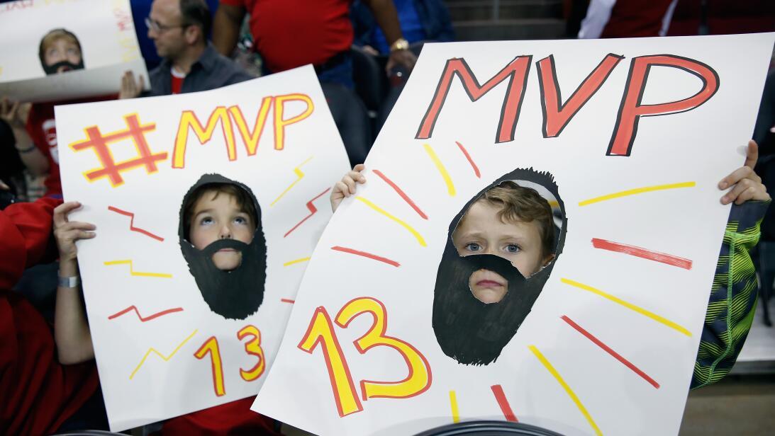 James Harden: números sobresalientes esta temporada e ídolo en NBA Getty...