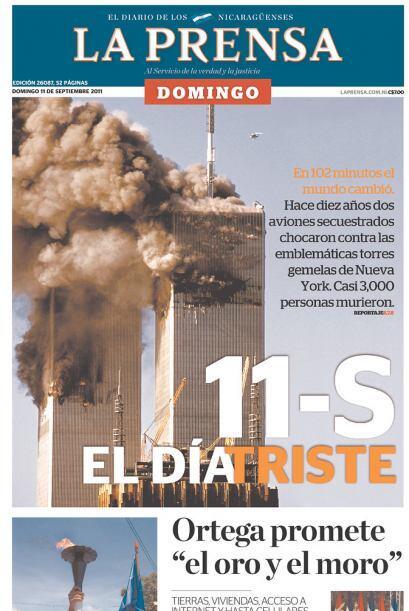 Cortesía de La Prensa de Managua, Nicaragua, vía Newseum.