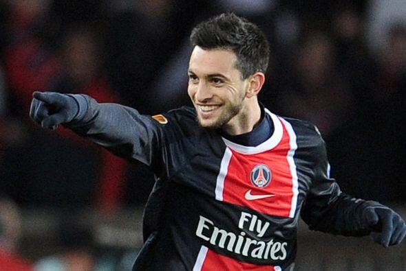 Javier Pastore hizo el gol del empate y después  Mathieu Bodmer puso el...