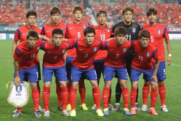Corea del Sur está colocada en uno de los grupos más parejos de la compe...
