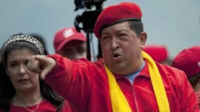 """El mandatario venezolano declaróestar """"muy feliz"""" por andar """"de nuevo e..."""