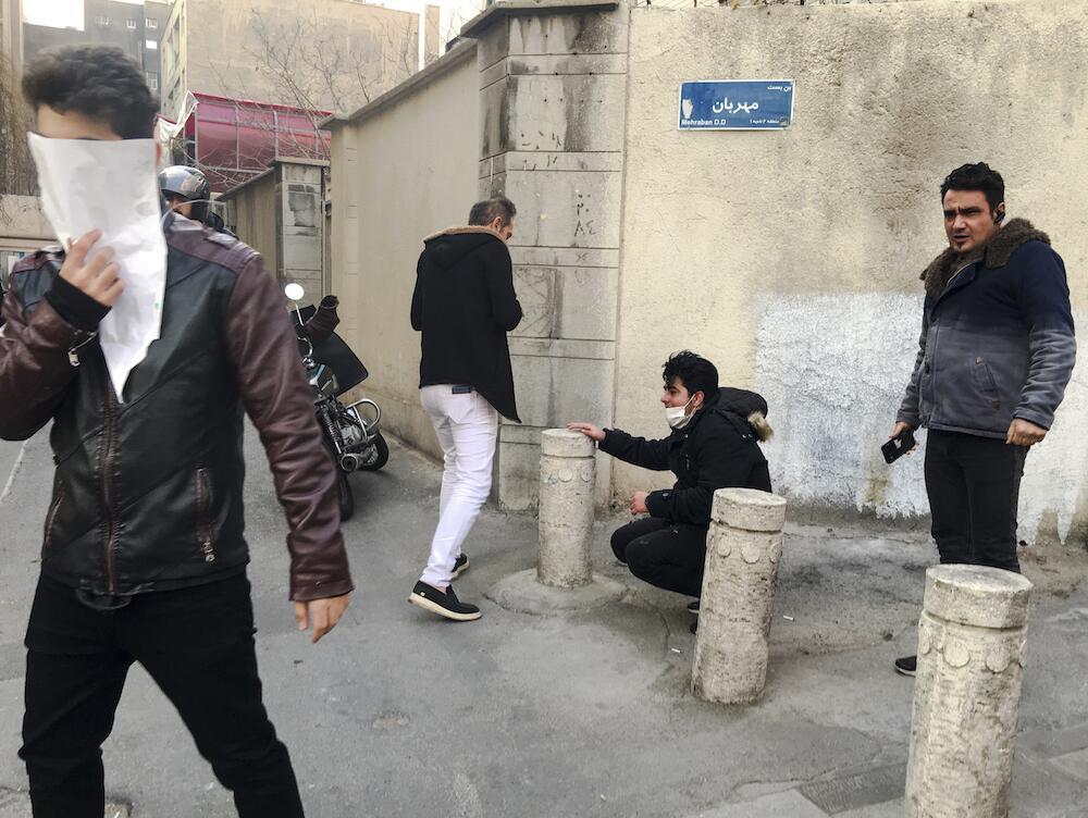"""El Gobierno iraní advirtió este domingo que los manifestantes """"paga..."""