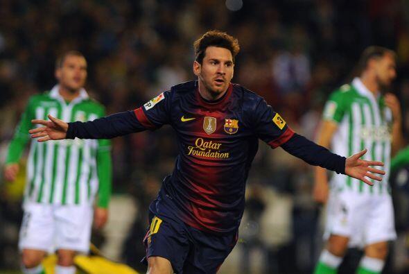 El momento esperado por todos era si Lionel Messi marcaría un gol para e...