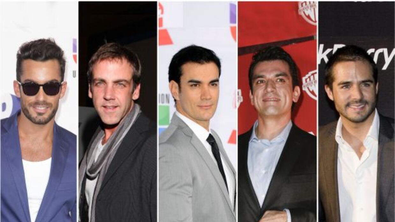Aarón Díaz. Carlos Ponce, David Zepeda, Jorge Salinas y José Ron están n...