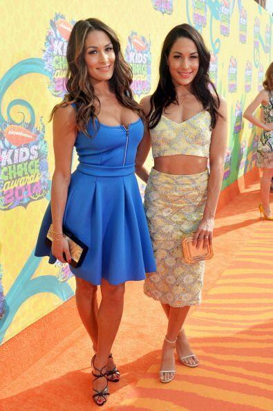 Las luchadoras y modelos profesionales Brianna Monique y Stephanie Nicol...