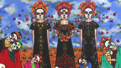 Más de 50 artistas en California se unen para crear exhibición del Día de los Muertos