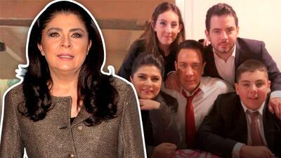"""Victoria Ruffo le contesta a quienes llaman """"feos"""" a sus hijos"""