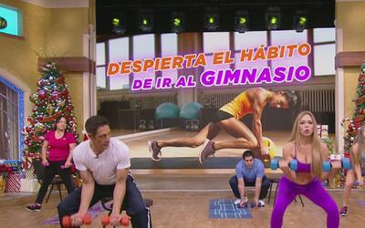 ¡Despierta y ve al gimnasio! Claudia Molina te dice cómo
