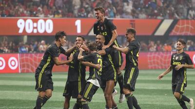 En fotos: Juventus venció en penaltis al Equipo de MLS tras empate en Partido de Estrellas