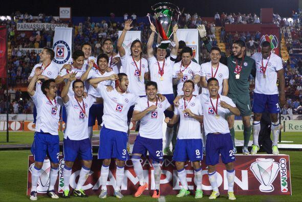 En la versión del Clausura 2013, Cruz Azul se alzó con el título, tras v...