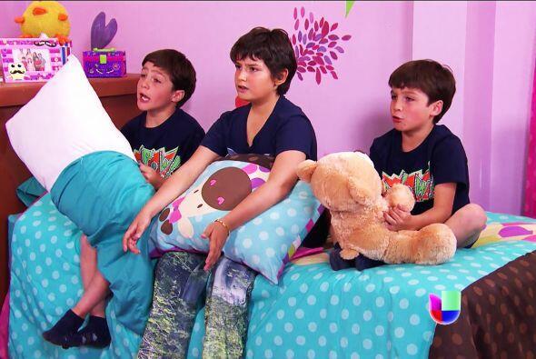 Sobre todo Luz, los gemelos y Sebastián. Están tristísimos con la noticia.