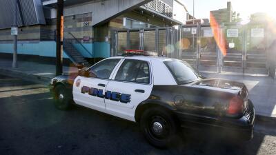 Operativo de seguridad en Los Angeles