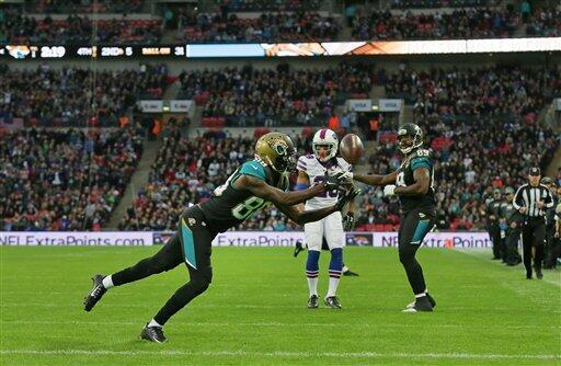 Los Bills fueron sorprendidos por los Jaguars en Londres 34-31. Checa la...