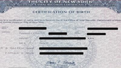 Junta de Salud de Nueva York apoya la inclusión del género 'x' en las partidas de nacimiento