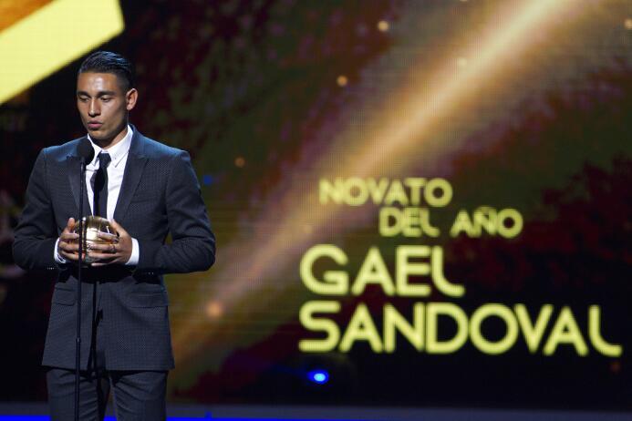 Ellos son los ganadores del Balón de Oro Gael Sandoval Revelacion del Añ...