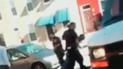 Video del arresto de Freddie Gray