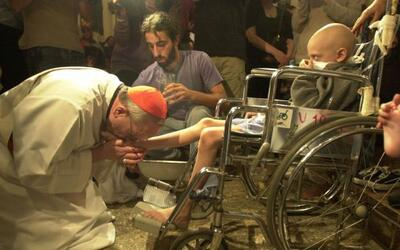 Amigos y allegados a Jorge Mario Bergoglio, el ahora papa Francisco, coi...