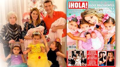 Jacky Bracamontes presenta oficialmente a las gemelas Emilia y Paula