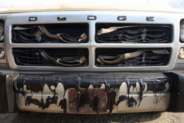 No se han contabilizado la cantidad de vehículos devorados por la...