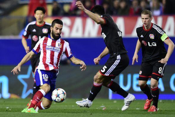 Las pocas llegadas de Atlético de Madrid y el Leverkusen acabaron en man...