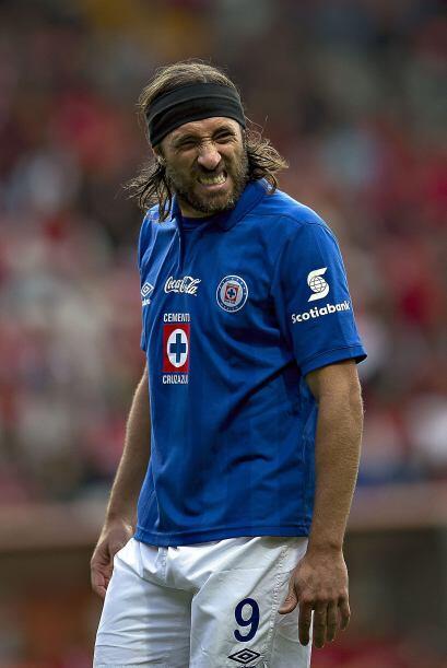 Mariano Pavone también sufrió bastante por tener una oportunidad de hace...