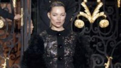 Kate Moss formó parte de la colección otoño e invierno creada por Marc J...