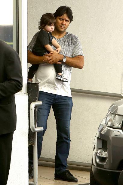 La verdad es que Milan Piqué es la adoración de la familia Piqué Mebarak...