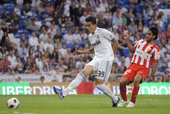 El último del Real Madrid, el 8 a 1, fue obra del debutante Joselu.