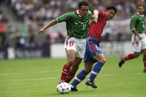 En la Copa del Mundo de Francia 1998, México se ubicó en el Grupo E junt...
