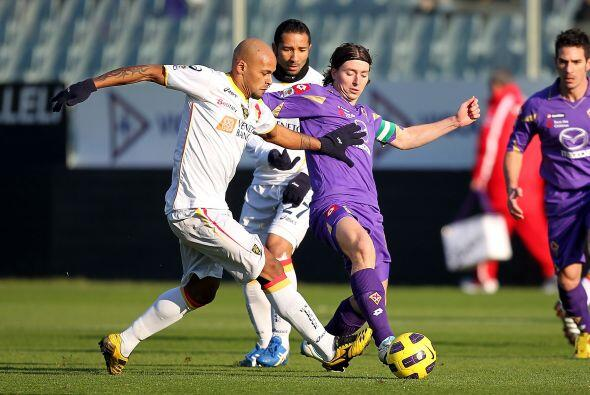 Fiorentina necesitaba puntuar ante el Lecce.
