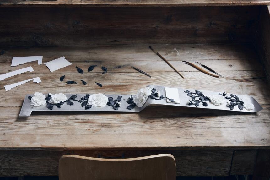 Esta es La Galería, un espacio dedicado al arte en el tablero del nuevo...