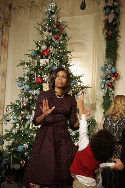 La Navidad llegó a la Casa Blanca.