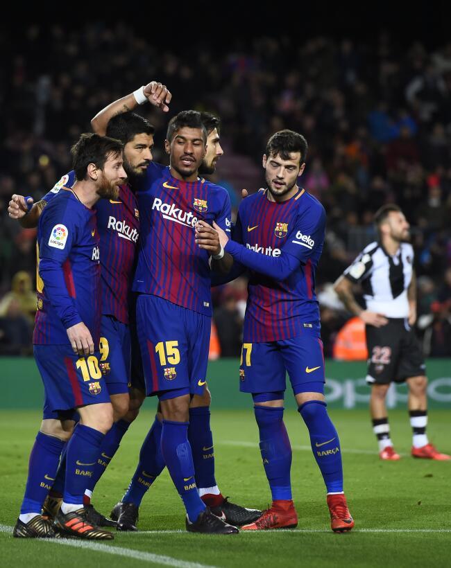 El 2018 comenzó con una nueva victoria en La Liga. Barcelona se impuso 3...