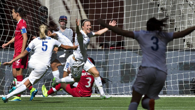 Inglaterra vs. Canadá Mundial femenil