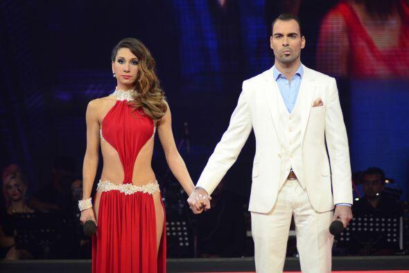 Paloma recibió los votos del público y, ultimadamente, Joyce fue salvada...