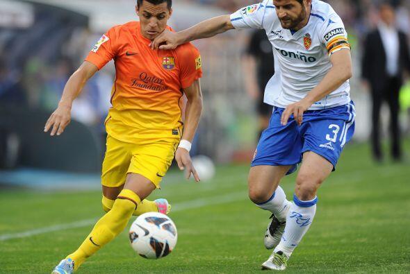 Barcelona volvió a disputar un partido de la Liga española...