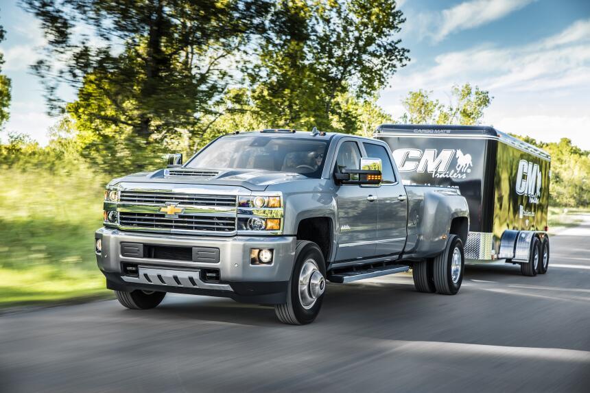 Conoce las 10 pick ups más caras del mercado 10 2017-Chevrolet-Silverado...