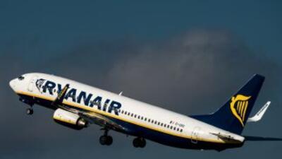 Una aeronave de la aerolínea irlandesa Ryanair.
