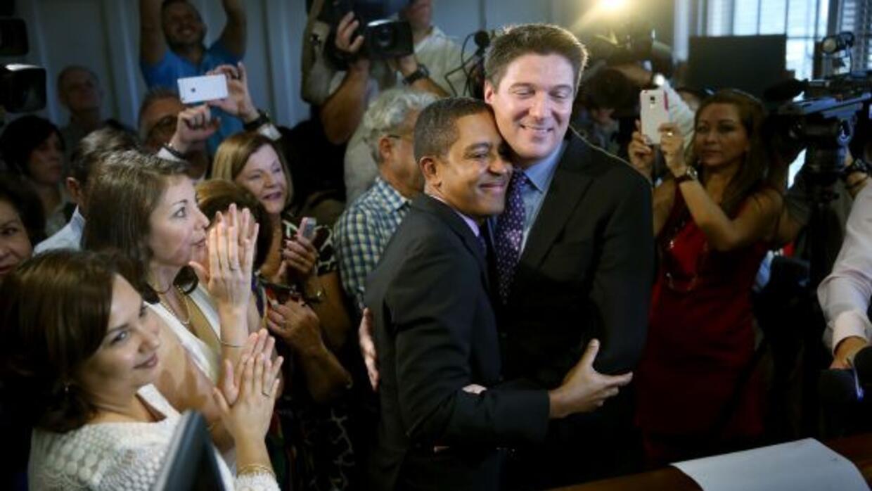 A partir de este martes, serán legales en Florida los matrimonios homose...