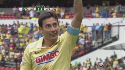América vs Morelia: Golazo de Rubens Sambueza anota el 2-1 para América
