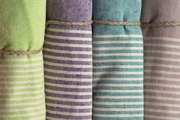 Las toallas de bambú también son resistentes al moho.