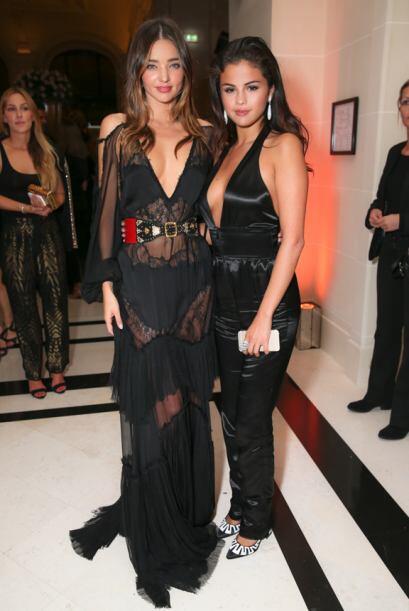 Sin embargo, sí la vimos con Miranda Kerr, la modelo que supuesta...