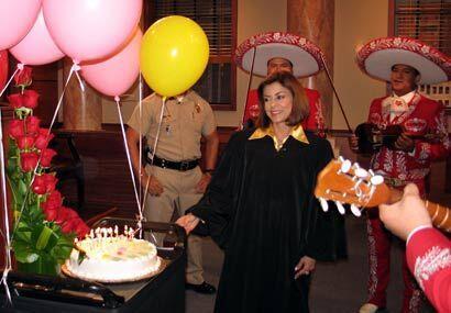 Para completar la fiesta, llegaron los mariachis.