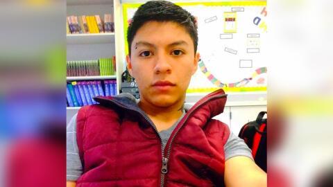 El joven ecuatoriano Diego Ismael Puma Macancela, que había sido detenid...
