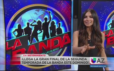 Todo listo para la gran final de la segunda temporada de La Banda