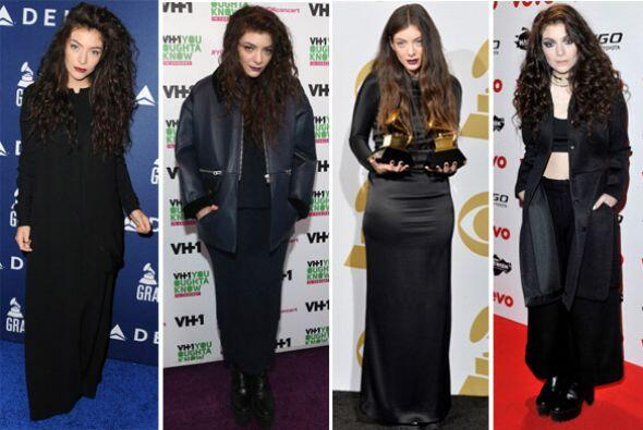 La cantante Lorde ha hecho pocas apariciones en público y en la mayoría...