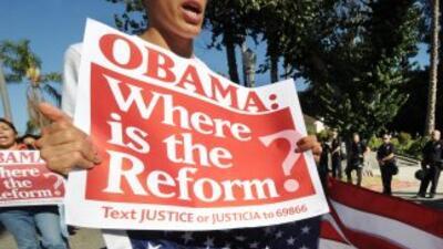 La reforma migratoria es uno de los temas pendientes en la agenda del pr...