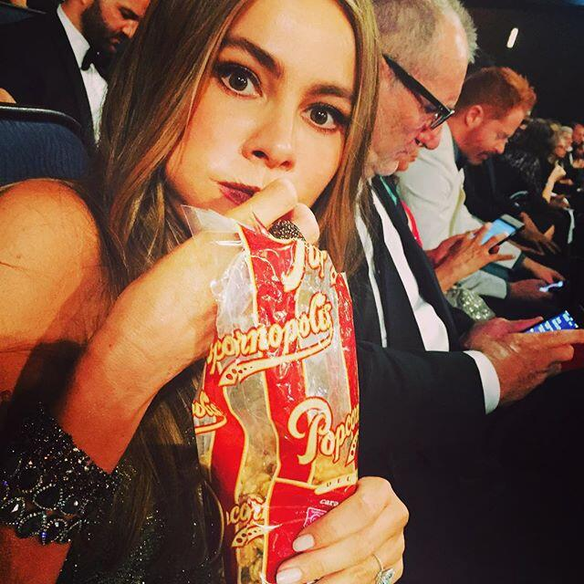 sofia eating