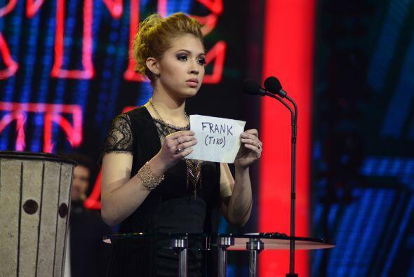 Paloma votó en contra de Frank (a quien le dicen Tiko de cari&nti...